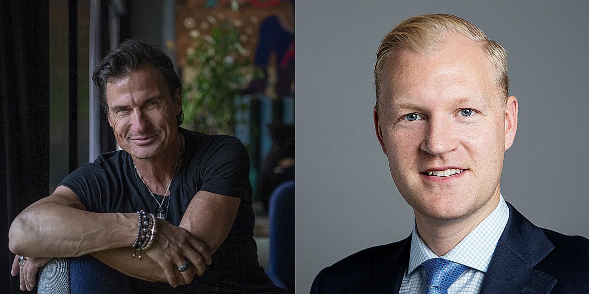 Petter Stordalen and Tomi Alén.
