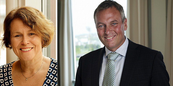 Britta Blaxhult and Rolf Thorsen.