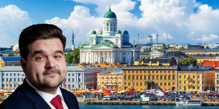 Sampsa Apajalahti, Investment Director at Capman Real Estate, targets more investments in Finland.