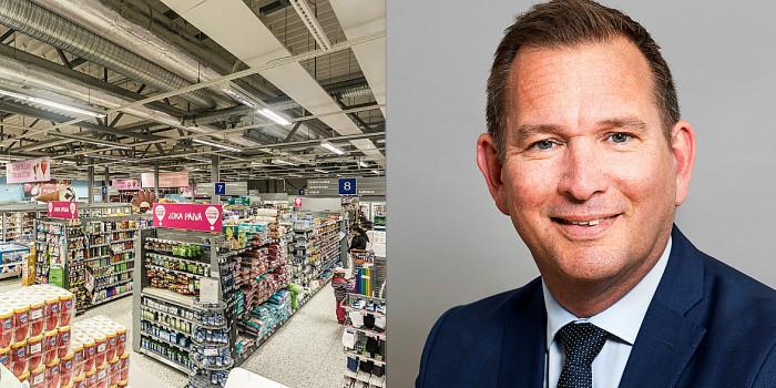 Sverker Källgården, CEO of Cibus Nordic Real Estate.