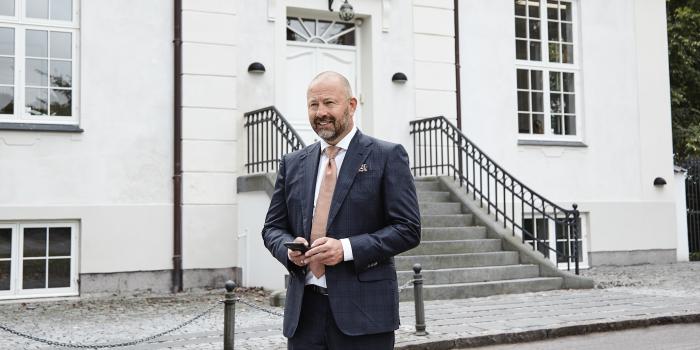 Jan Severin Sølbæk, CEO of Artha Holding.