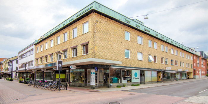 Diös is purchasing two commercial properties in a strategic central location on the pedestrian street in Skellefteå.
