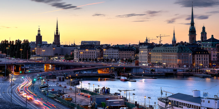 Another global giant aims for Scandinavia. (The image shows Stockholm skyline.)