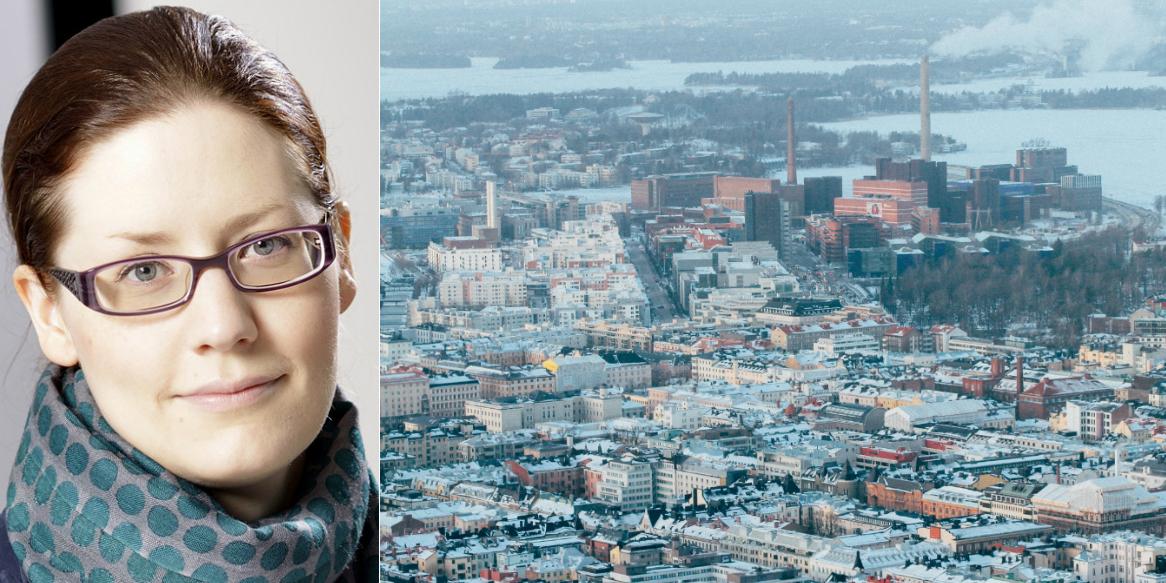 Liisa Salmela, Communications Manager at Skanska Finland.