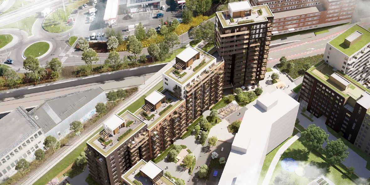 Skanska builds 168 apartments in Oslo, Norway, for NOK 344 M, about SEK 370 M.