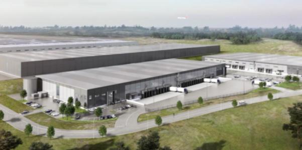 Landvetter Logistik Center.