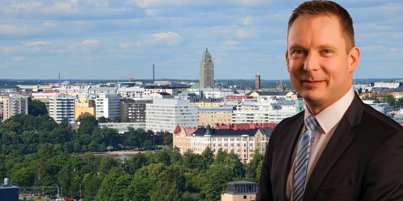 Atte Köykkä, Conficap's Director, Real Estates.