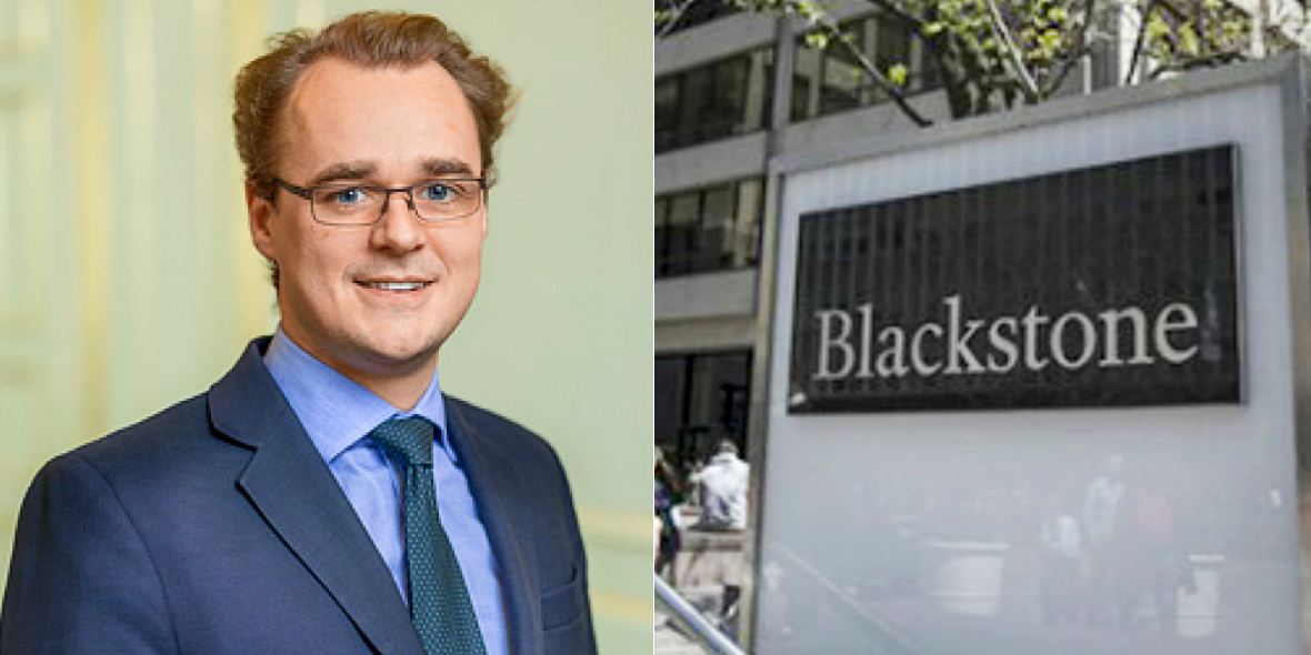 James Seppala, Head of Real Estate Europe at Blackstone Group.