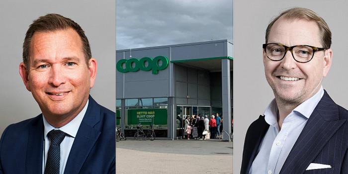Both Sverker Källgården and Jan Björk are interested in the grocery store portfolio.