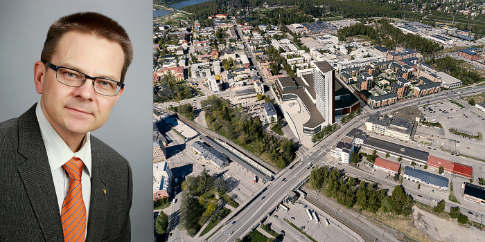 Mikael Snellman, YIT, and the new Wasa Station.