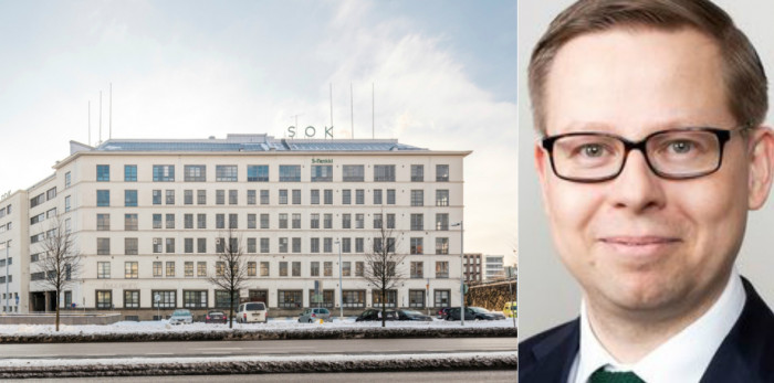 The recently divested property in Helsinki and Ilkka Tomperi.