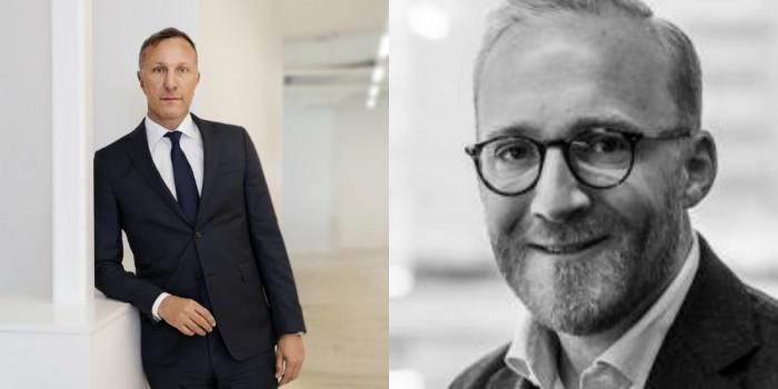 Fredrik Lidjan, CEO of Magnolia Bostad, and Erik Dansbo, Head of Investment at Slättö.