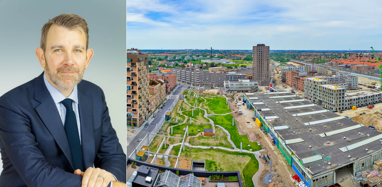 Rob Johnston, Senior Director – Transactions, UK and Nordics at Invesco and the latest purchase Grønttorvet 8.