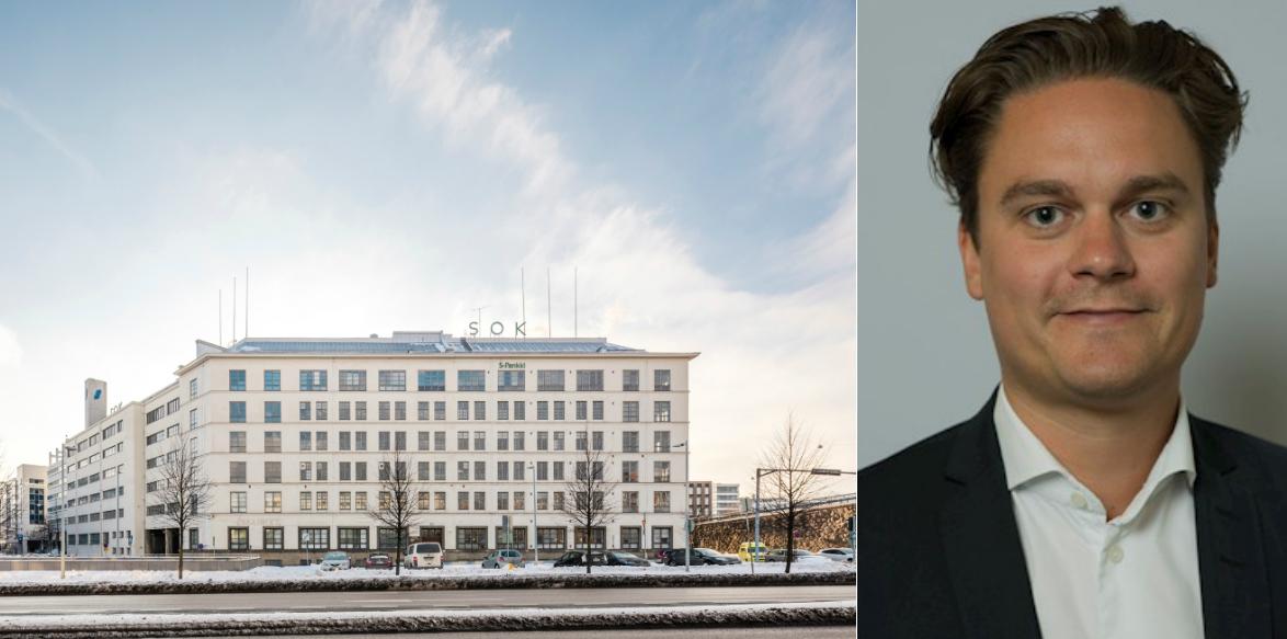 The SOK HQ and Robin Englén.