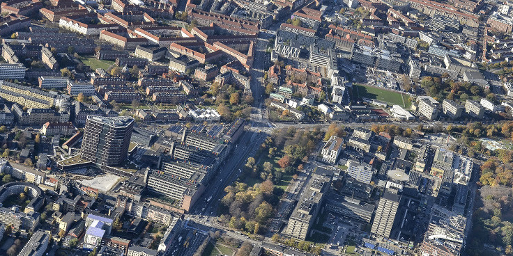 Copenhagen Science City from above.