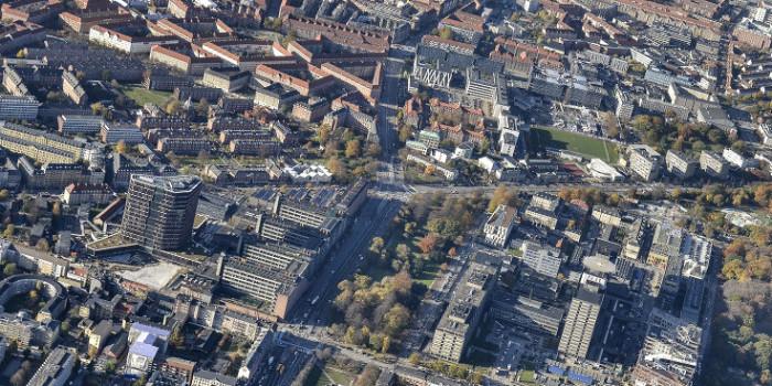 Copenhagen Science City from above.
