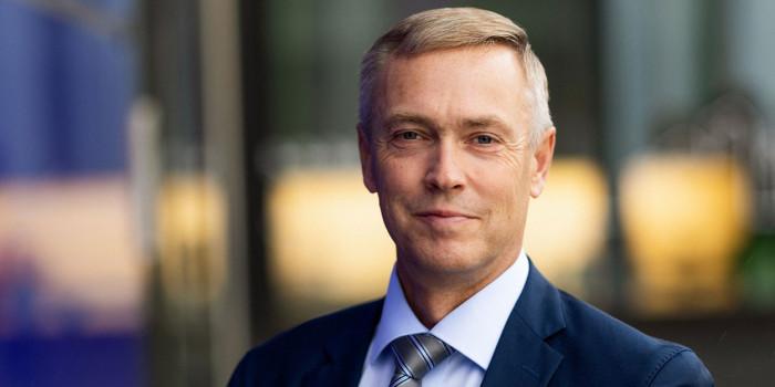 Tuomas Särkilahti, CEO of Skanska Finland.