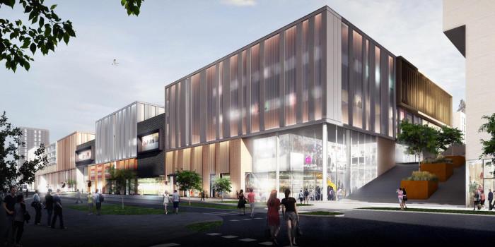 The future Lippulaiva shopping center in Espoo will be constructed by Skanska.