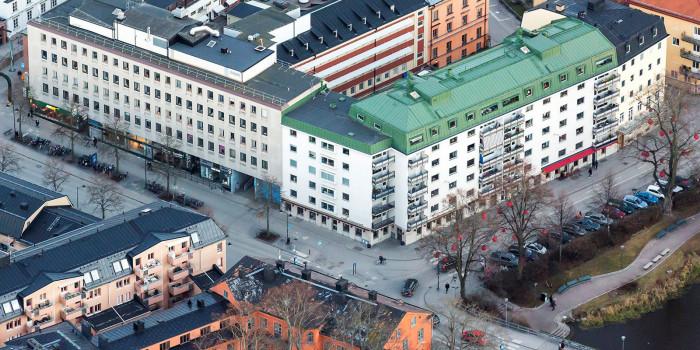 Fastpartner acquires Dragarbrunn 10:3 in Uppsala from Skandia Fastigheter.