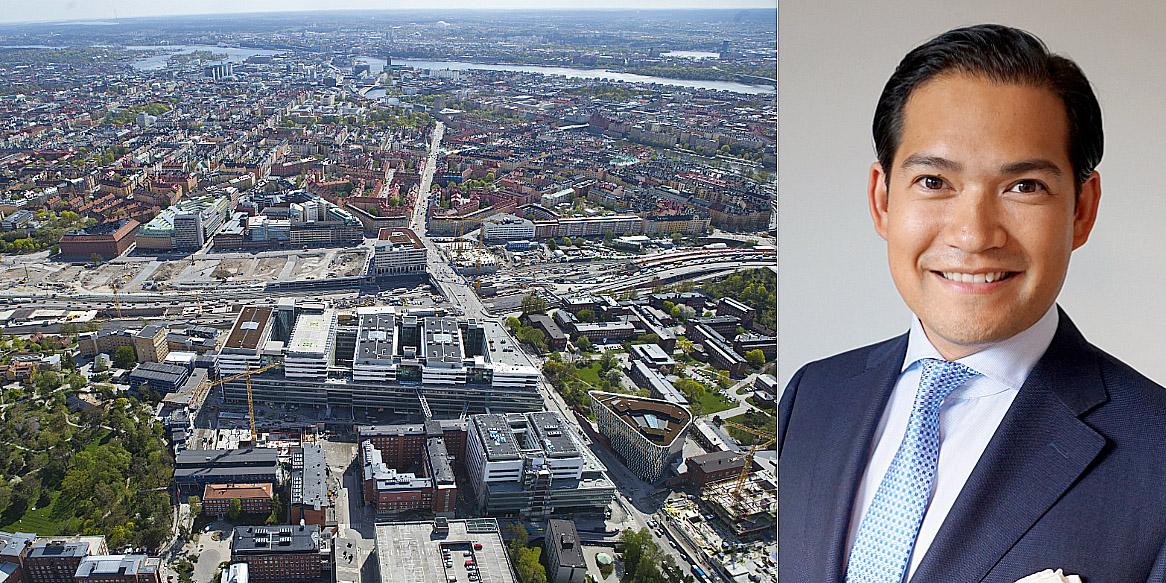 Thorsten Slytå, Director in the Nordic region at M&G Real Estate.