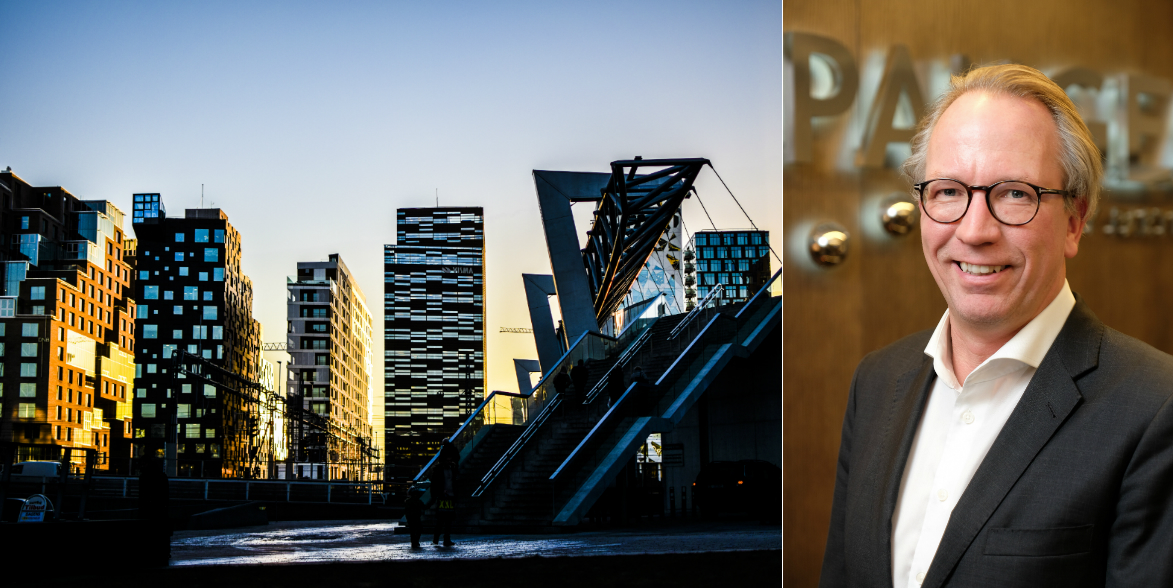 Joakim Arvius is the new CEO of Pangea Property Partners' Swedish operations.