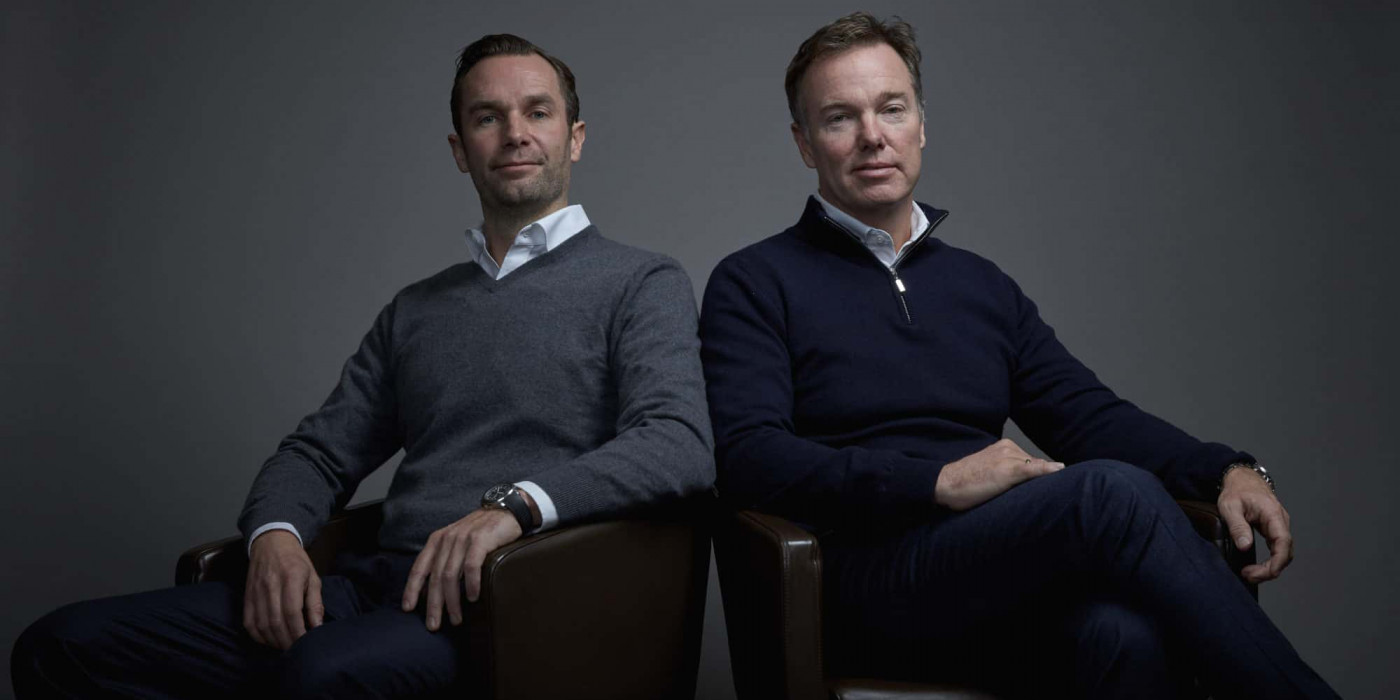 Fredrik and Olav H Selvaag.