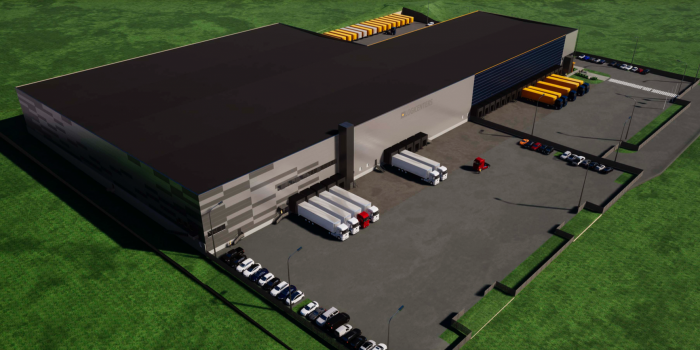 Logicenters is developing a 18,300 sqm logistics facility in Kerava.