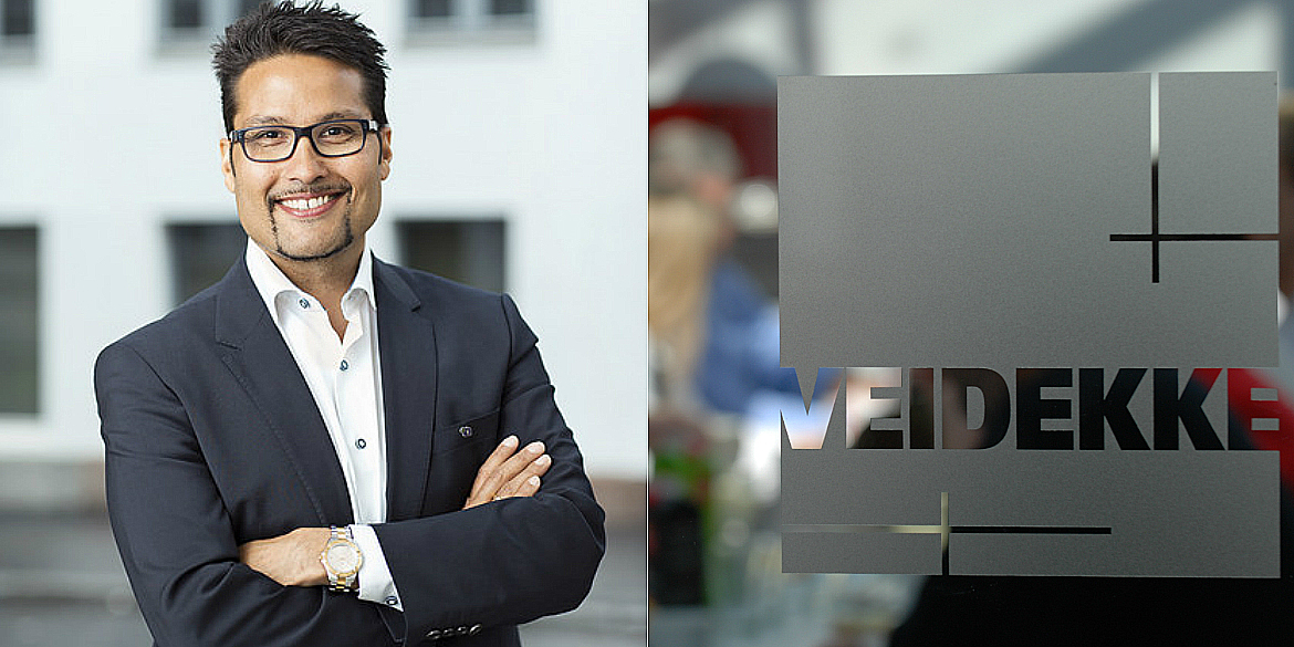 Daniel Kjørberg Siraj to, temporarily, leave Veidekke's Board of Directors.