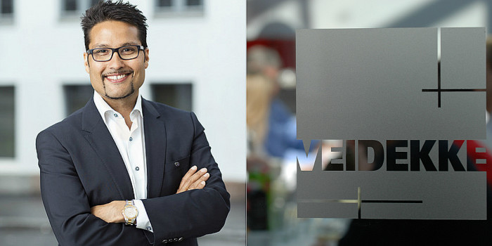 Daniel Kjørberg Siraj to, temporarily, leave Veidekke's Board of Directors.