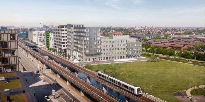 The mixed-use project in Ørestad, Copenhagen.
