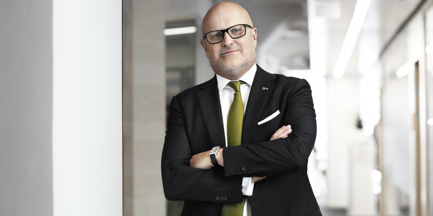 Stefan Dahlbo, CEO of Fabege.
