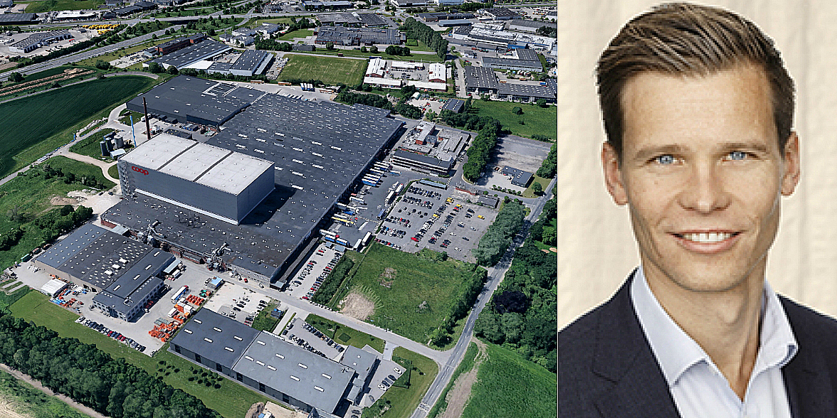 The logistics deal in Odense and Jacob Kjær.