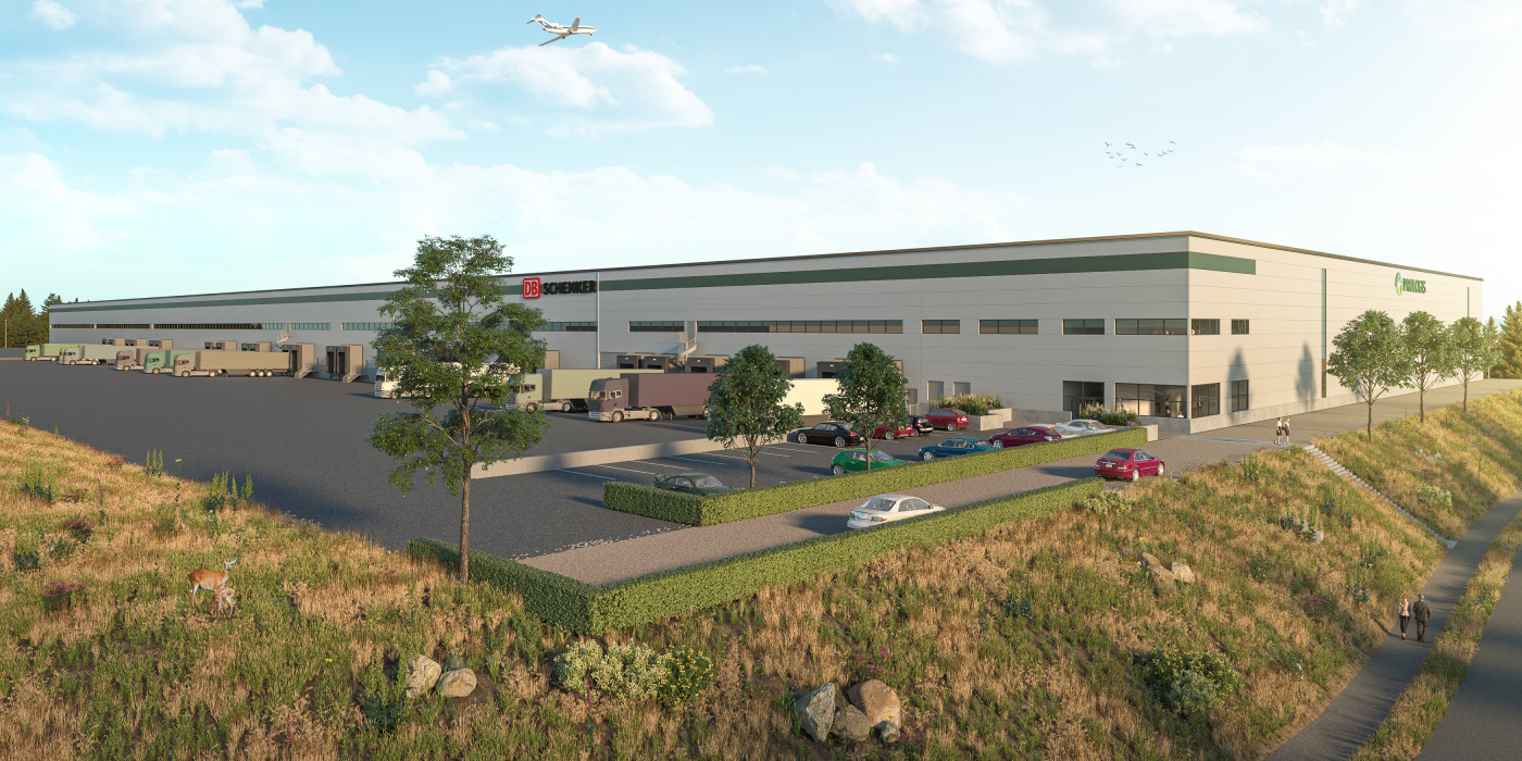 Prologis will build on a speculative basis in Arlanda.
