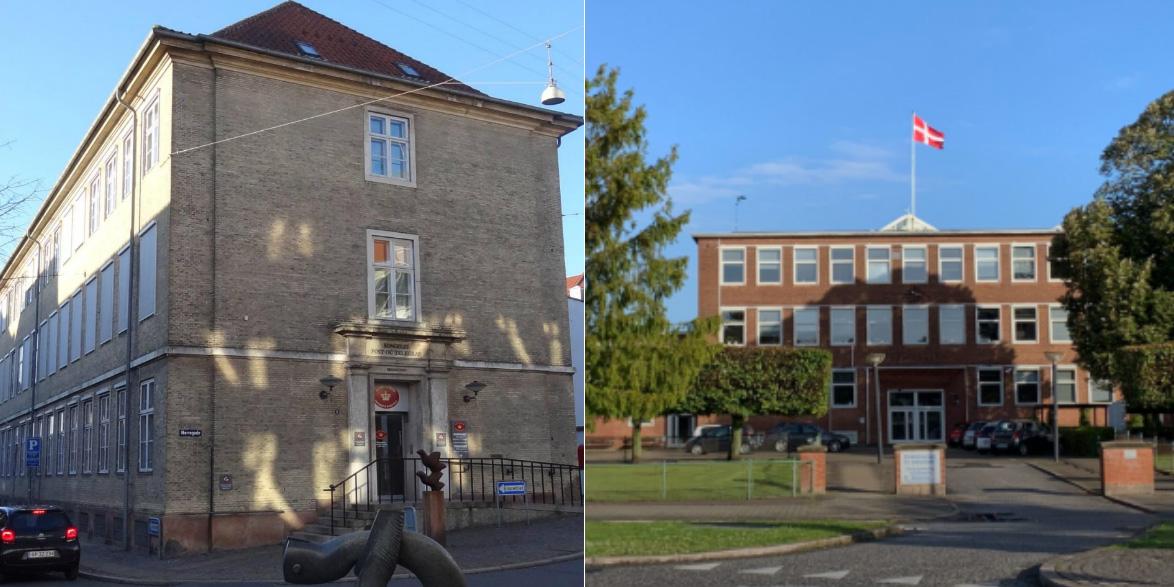 Nørregade 1,5 & 7 in Randers and 6. Julivej in Fredericia.
