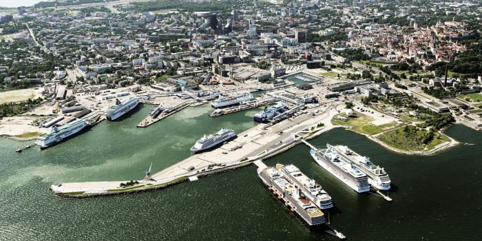 Port of Tallinn.