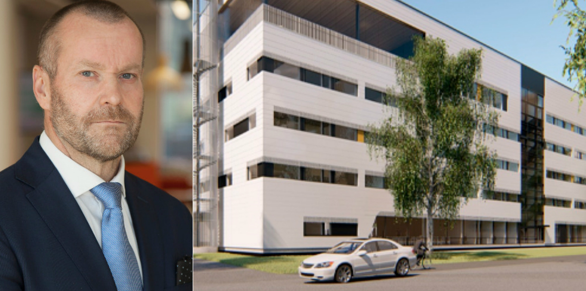 Antero Tenhunen, Portfolio Manager, OP Real Estate Investment, and the latest office investment in Oulu.