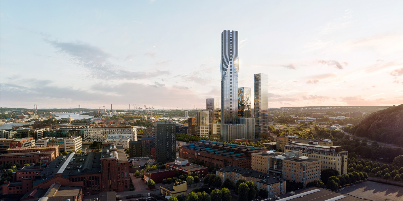 Karlatornet will be the tallest building in the Nordic Region.