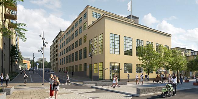 Hammarby Sjöstad, Stockholm.