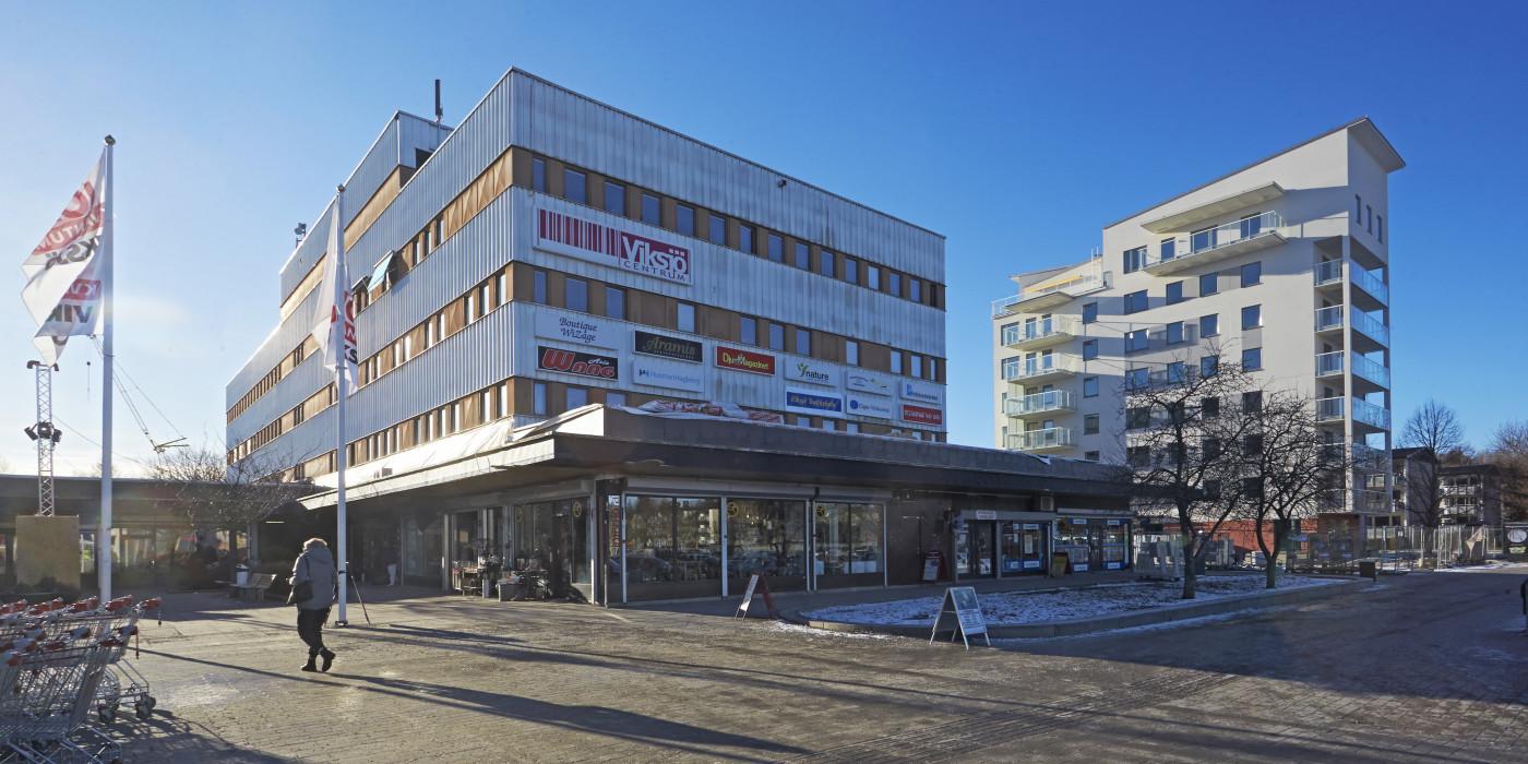 Viksjö Centrum.