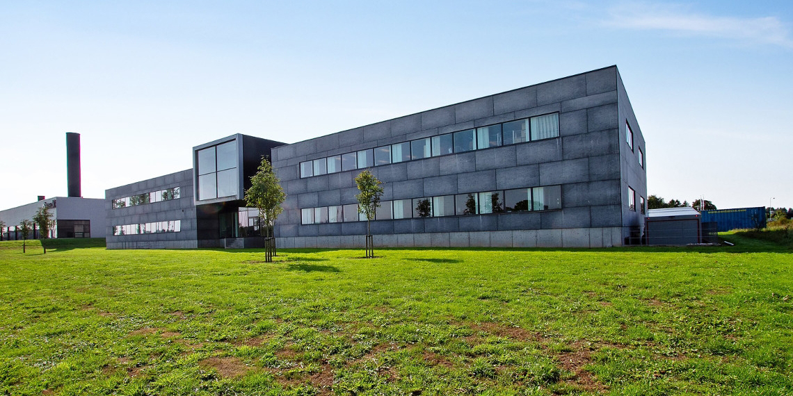 The office property in Kolding comprices 4,500 sq m.
