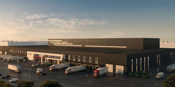 Veidekke Logistikkbygg has signed a contract with Anthon B Nilsen Eiendom to build Optimera's new automated central warehouse in Vestby.