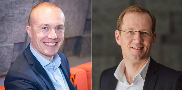 Harri Retkin, CIO of Avara, and Mika Savolainen, CEO.