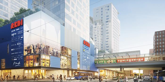 REDI shopping center.