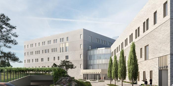 The new Oslo City Emergency Center.
