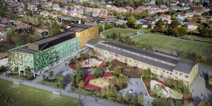 Veidekke builds new Vøldsløkka school in Oslo.