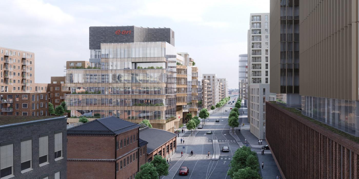 Eon's new Nordic HQ.