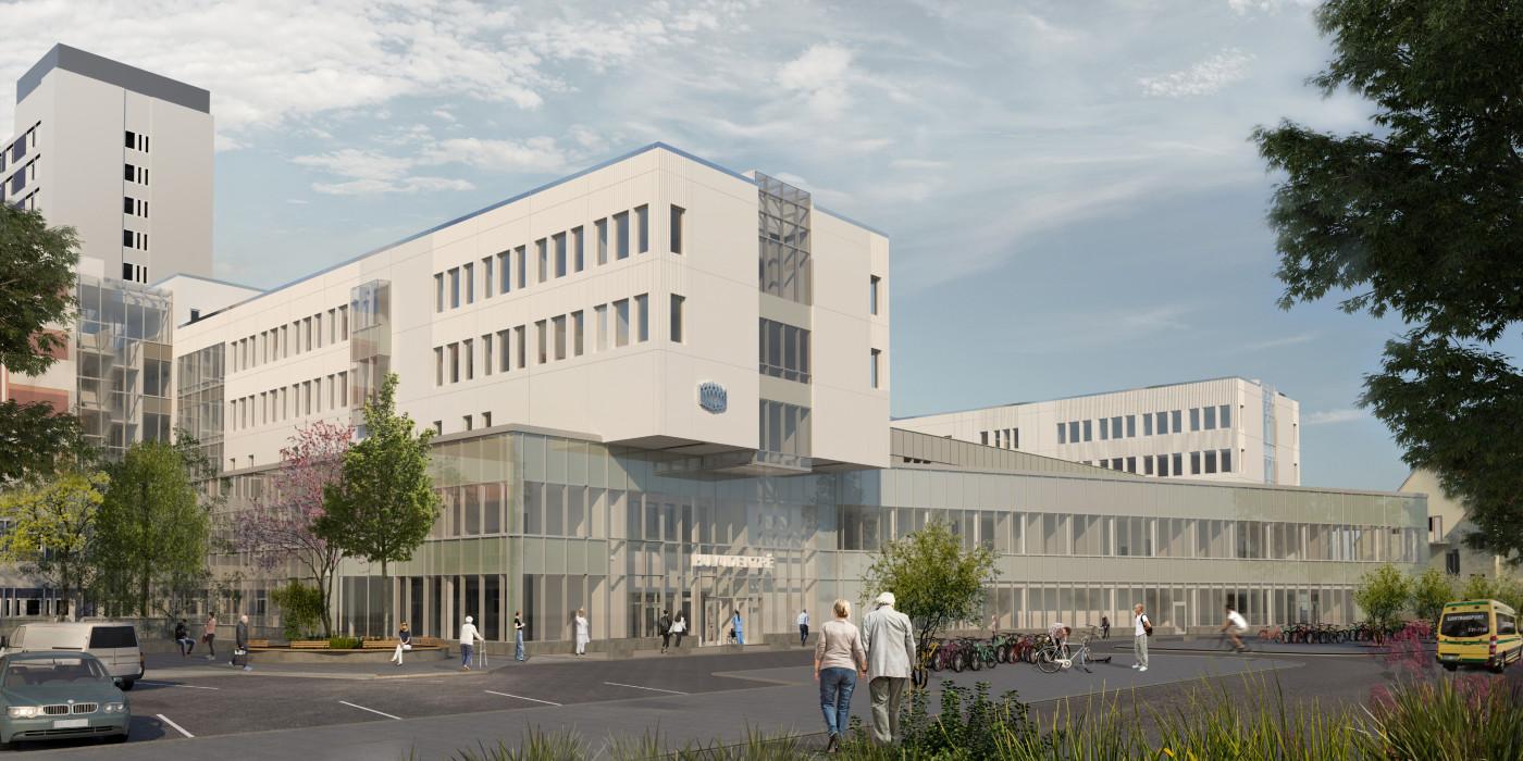 NCC to construct healthcare buildings in Sörmland for SEK 2.4 billion.