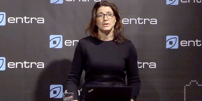 Sonja Horn, CEO of Entra.