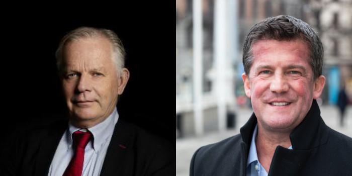 Jan-Erik Höjvall, CEO of Amasten, and Ilija Batljan, CEO of SBB.
