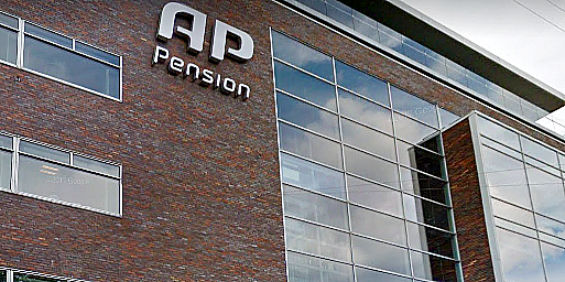 AP Pension's Copenhagen office.